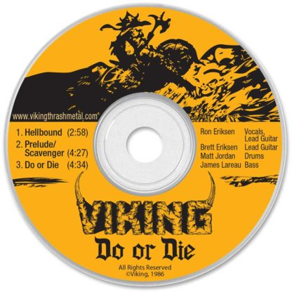 Viking Do or Die 1986 Demo CD