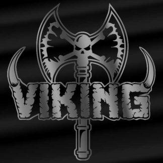 Viking axe and logo sticker