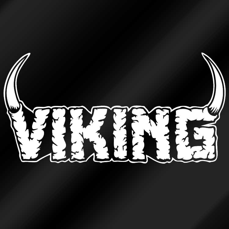 Viking Logo Vinyl Sticker Viking Merch Store